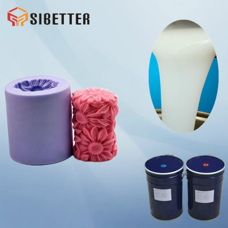 RTV- 2 Liquid Silicone Rubber For Candle Mold 2