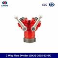 2 way breeching inlet valve  fire
