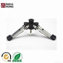 High Quality Metal Black Mini Table Tripod Stand for DSLR Camera