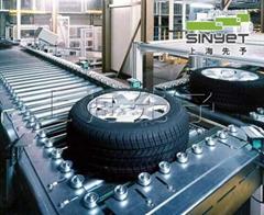 輪胎自動化裝配線動平衡設計