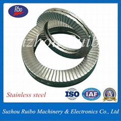 OEM&ODM Stainless Steel Fastener DIN25201 Lock Washer with ISO