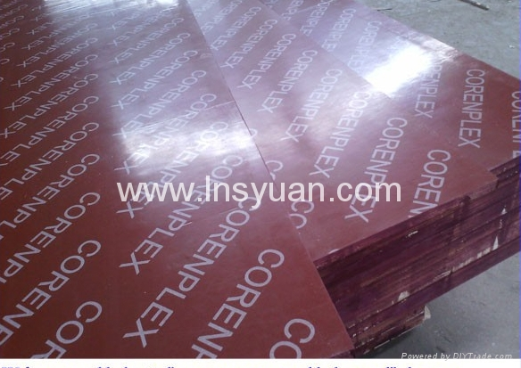 the best film faced plywood red brown black  1220x2440mm for construction  2