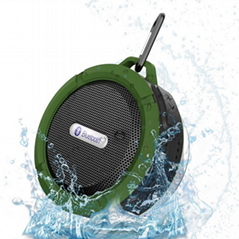 三防藍牙音箱防塵防水防摔支持收音機TF卡
