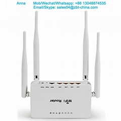 home use 4 external antenna openwrt wireless router with usb port