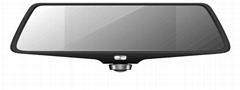 5 inch rearview mirror 1080P full hd vihicle blackbox dvr user manual 360 degree