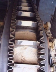 Corrugated Sidewall Conveyer Belt