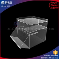 supermarket acrylic food display box with chep price