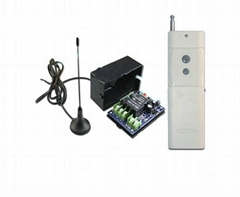 2000M 10A 1 CH 433MHz DC12V RF Wireless Remote Control Switch Radio Controller T