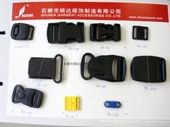 廠家直銷塑料背包扣箱包配件塑膠插扣功能扣具卡扣安全扣登山扣具