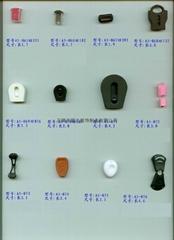 厂家直销塑料拉头辅料服饰配件卡绳头扣夹扣塑胶锁绳扣固定扣