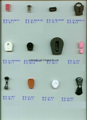Plastic button pull head card rope clip plastic rope buckle fixed screw