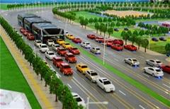 智能轨道交通模型
