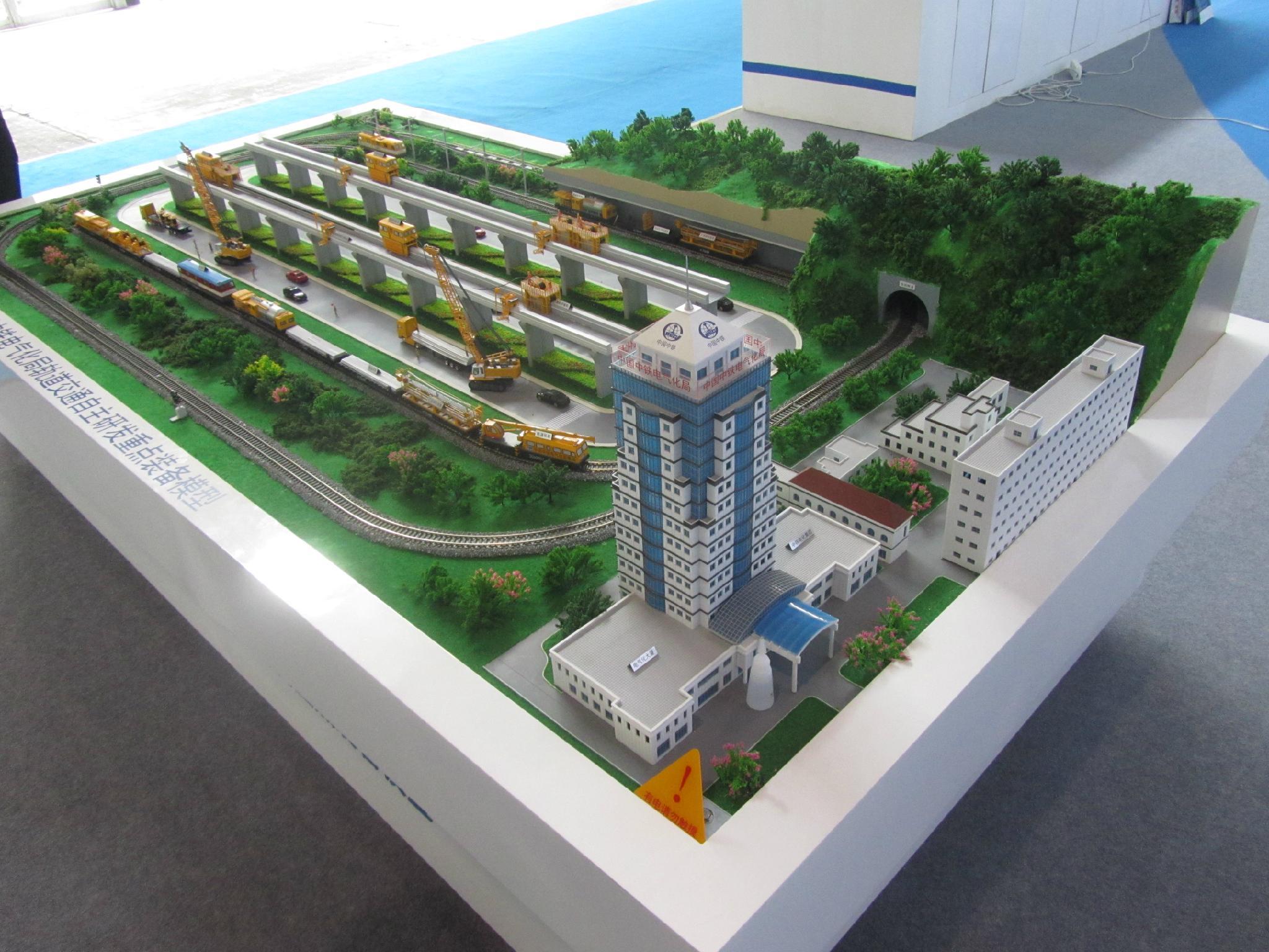 智能軌道交通模型 2