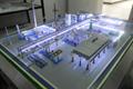 包頭智能工廠沙盤模型 4