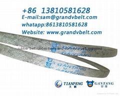 DIN2215 BS3790 Wrapped V-Belts - Garden Technic