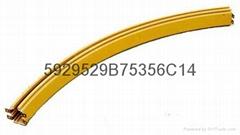 武漢天力TLHH型弧形管式滑觸線