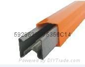 武漢天力TLHX型單極安全鍍鋅鋼滑觸線