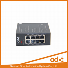 Hot selling 8 port unmanaged industrial switch