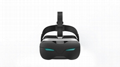 Newest factory-wholesale top 10 best VR headsets in 2016  HDMI 1080P CE ROHS FCC