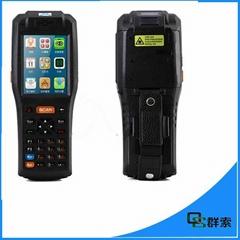 安卓工業盤點手持機條碼掃描數據採集終端PDA