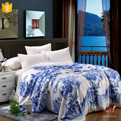 Unique Colorful Adult Bedding Sets with Chinese Style