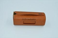 bluetooth speaker genuine leather case