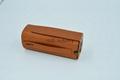 bluetooth speaker genuine leather case 2