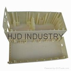 Rapid Prototype Service, 3D CNC Plastic and Metal Rapid Prototype Copper, 3D Pri