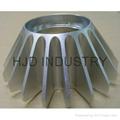 Rapid prototyping metal parts