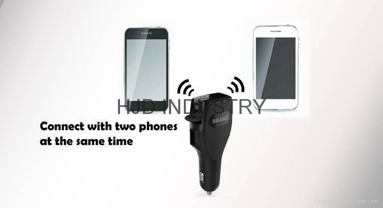 Car charger Bluetooth headset 4