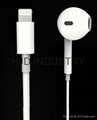 Lightning connector earphone for iphone