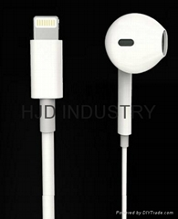 Lightning connector earphone for iphone 7/Plus (Hot Product - 1*)