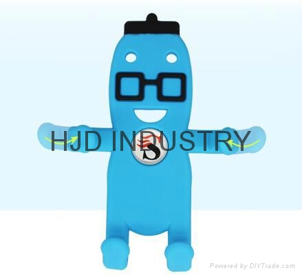 Promotional gifts cartoon silicone car mount holder 6