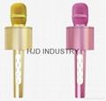 Mini Karaoke Microphone+Speaker Bluetooth 3.0 Home KTV karaoke Player for