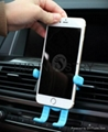 Cartoon Silicone Car Air Vent Phone Mount Holder for iPhone 7 plus Note 7 Car St