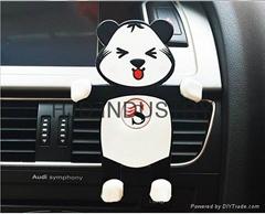 Cartoon Silicone Car Air Vent Phone Mount Holder
