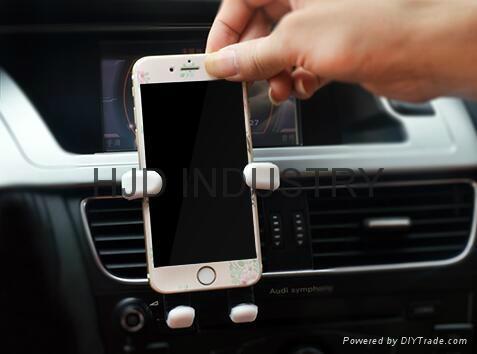 Cartoon Silicone Car Air Vent Phone Mount Holder 6