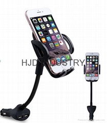 Smartphone holder with Dual USB charger (Hot Product - 1*)