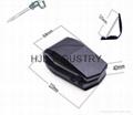 car accessories flexible leather air vent car mount 4