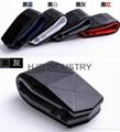 car accessories flexible leather air vent car mount 3