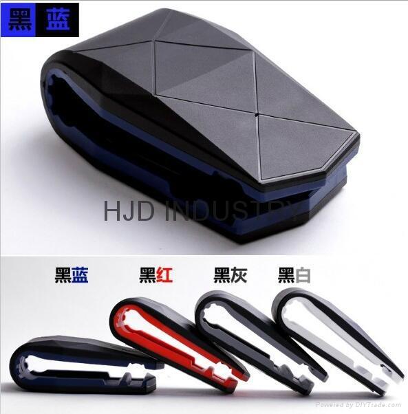 car accessories flexible leather air vent car mount
