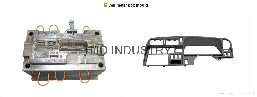 Van meter box mould 1