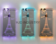 Lightning Silicone Mobilephone Case for iphone