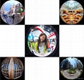 12 LED Selfie Fisheye Wide Angle Macro Mobile Phone Lens