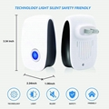 New Ultrasonic Pest Repeller, ECO-Friendly Electronic Pest Control Plug in
