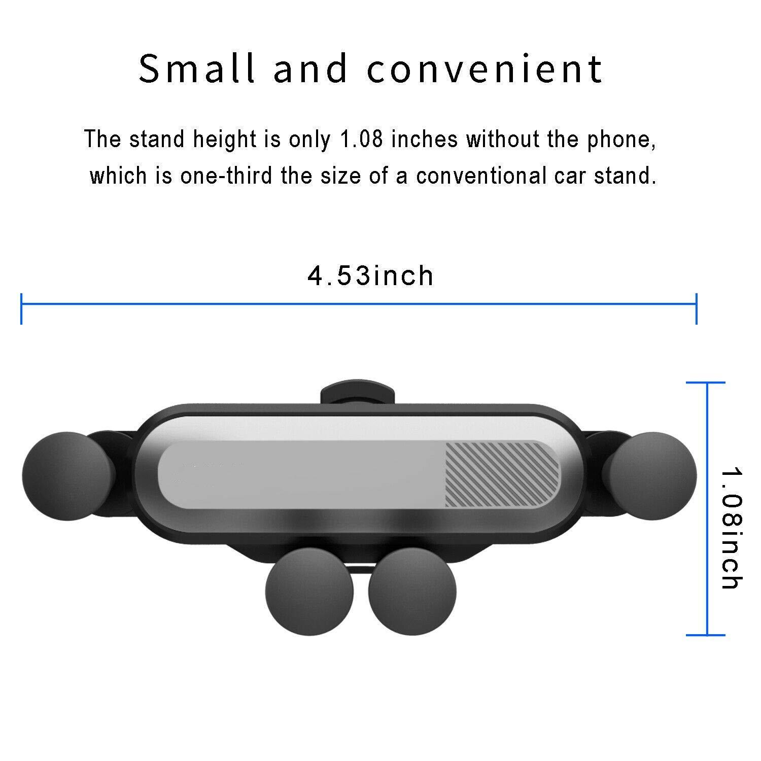 Mini Car Holder Universal Air Vent Mount No Magnetic