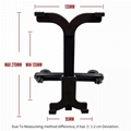 New Headrest Secure Back Seat Mount Stand