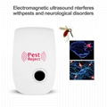 Ultrasonic Pest Reject Repeller Pest Control Electronic Anti Rodent Insect Repel