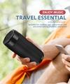Column Portable Bluetooth Mini Speaker with FM Radio Waterproof Subwoofer Wirel