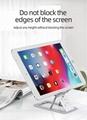 Aluminum alloy Desktop Stand Foldable Tablet mount Mobile phone holder